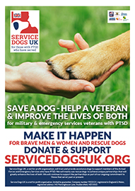 Service Dogs UK | Fundrasing Materials | A4 General Poster