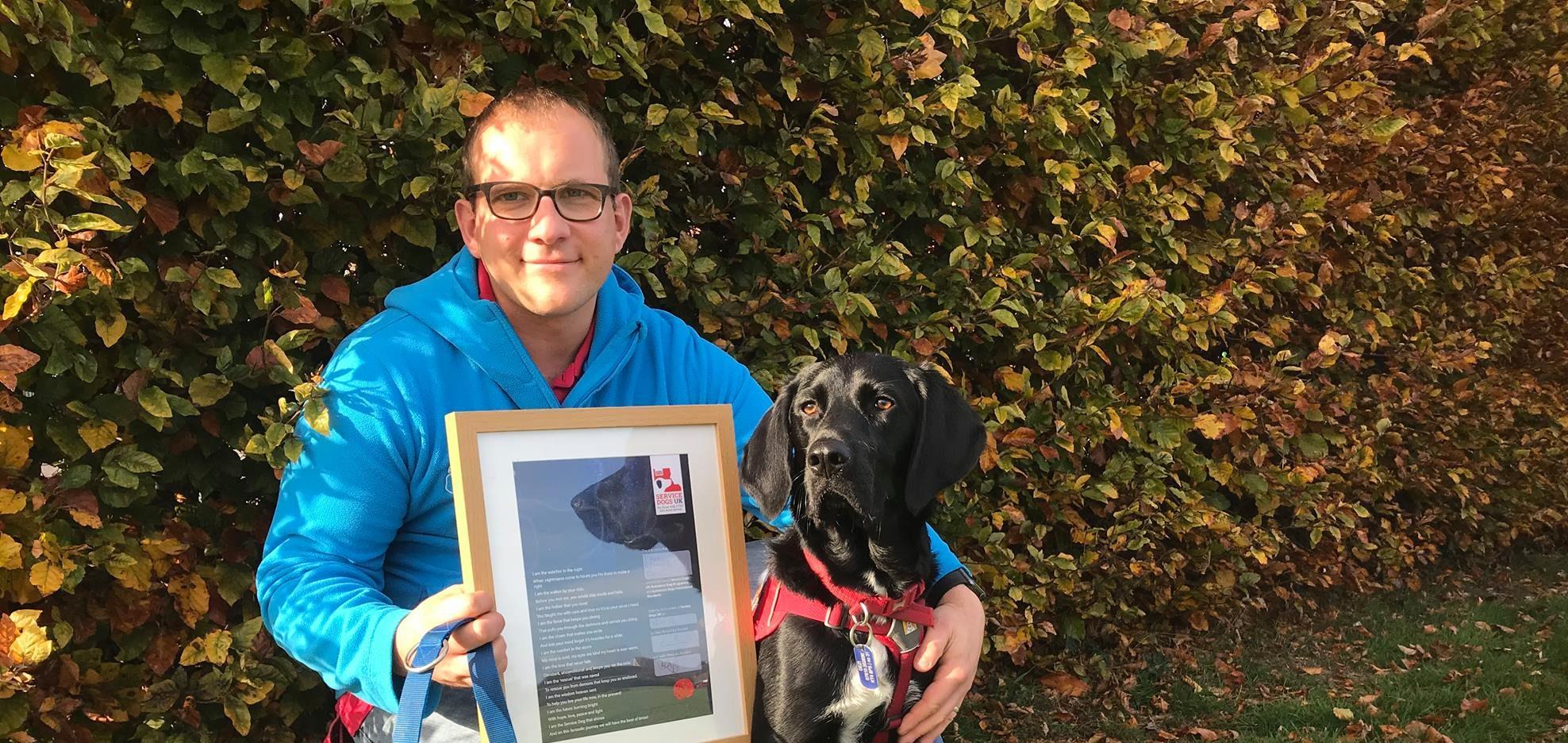 Paul & Dezi: PTSD Assistance Dog Team - Service Dogs UK